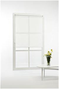 Hvite, billige rullegardiner 200, 180, 160 cm bredde